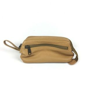 Green Fields Country Tan Cowhide Collection Bag